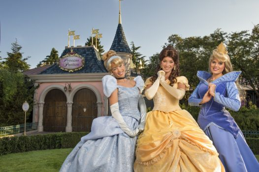 Princesses - Fantasyland ©Disney