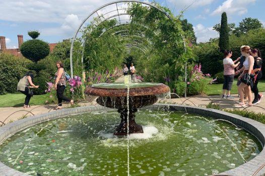 RHS Wisley - Surrey Fam Trip - Fountain
