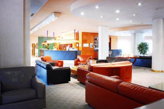 Reception & Lounge ©Perugia Park Hotel