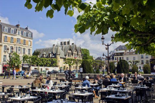 Reims, France, Place du Forum