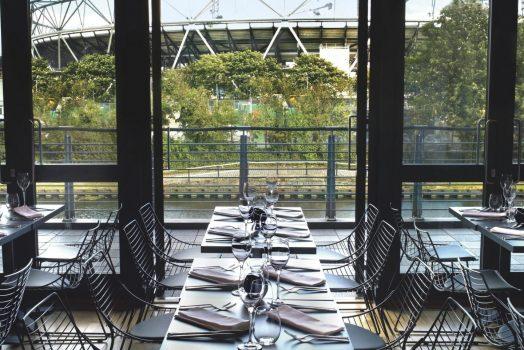 Formans Smokehouse Restaurant Terrace, London