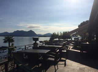 Restaurant Terrace, Hotel Splendid, Baveno, Lake Maggiore