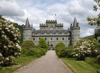 dunon inveraray Inverarary Castle ©Argyll Estates