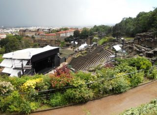Roman Theatre in Lyon, France