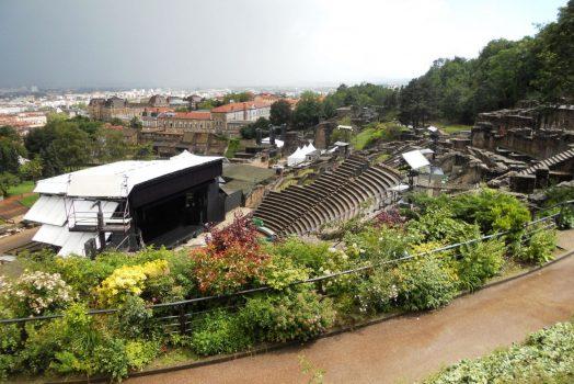 Roman Theatre in Lyon, France