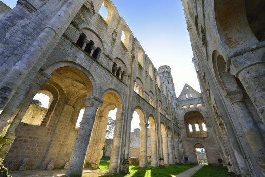 France, Rouen, Abbayes Jumieges, church, Monet, group travel © Rouen Normandie Tourisme & Congras