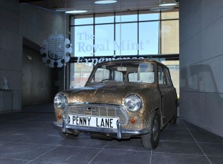 A minted mini at the Royal Mint Experience ©The Royal Mint Experience