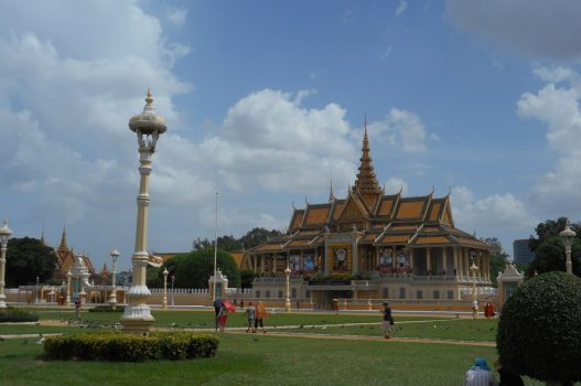 Cambodia, Phnom Penh, Royal Palace, NCN