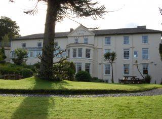 Royal Victoria hotel, Snowdonia, North Wales - Exterior