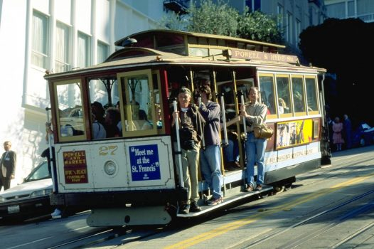 USA, America, California, San Francisco, cable car, funicular, group travel, group tours. NCN