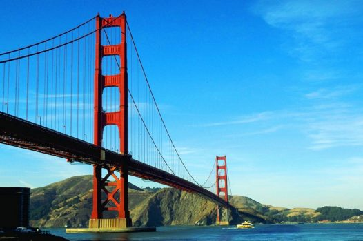 USA, America, California, San Francisco, Golden Gate Bridge, group travel, group tours. NCN