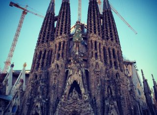 Gaudí's Sagrada Familia Cathedral, Barcelona