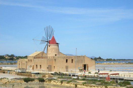 Salt Pans & Windmills, Trapani, Sicily