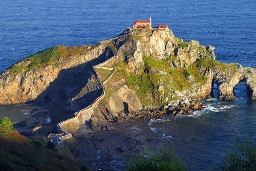 Hermitage of San Juan de Gaztelugatxe, Basque Country (C) With the permission of Bilbao Tourismo