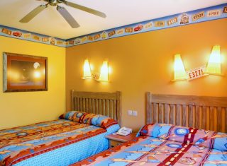 Disney's Santa Fe Standard Room with 2 double beds