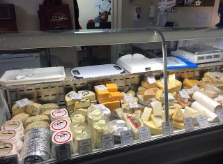 Scottish Borders, Scotland - Arran Cheese Shop
