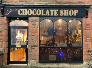 Scottish Borders, Scotland - Chocolate Shop on Isle of Arran