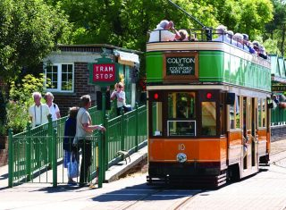 East Devon tour Seaton Tramway Carriage