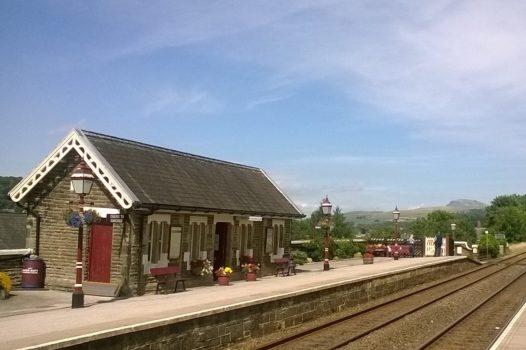 Settle to Carlisle Railway Station