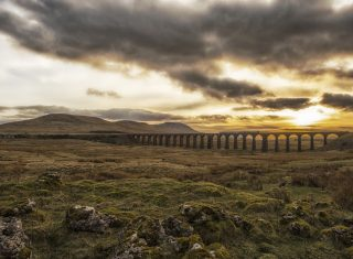 Settle to Carlisle Railway, Yorkshire - Viaduct and countryside © Colin Barker