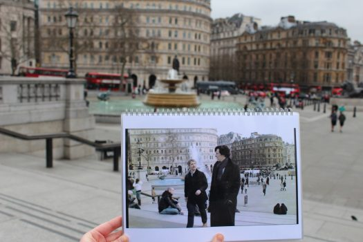Sherlock Holmes Walk ©Brit Movie Tours