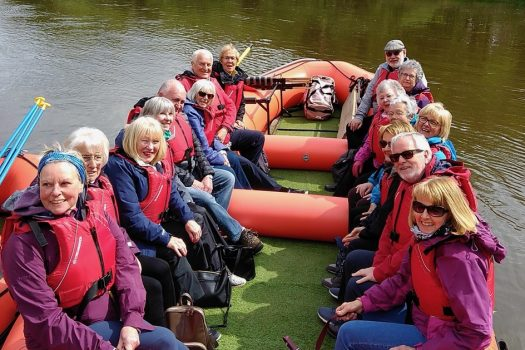 Shropshire Raft Tours, Ironbridge