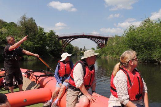 Shropshire Raft Tours, Ironbridge