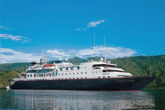 Silver Discoverer © Photo courtesy of Silversea Cruises