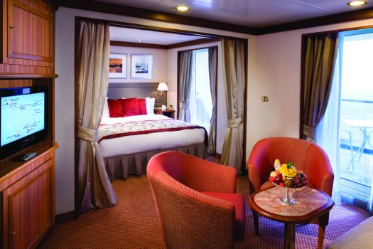 Silver Wind - Silver Suite © Photo Courtsey of Silversea Cruises