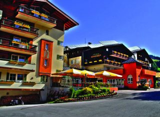 Harmony Hotel Sonnschein in Niederau - main entrance