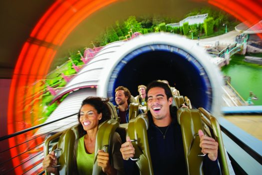 Enjoy Hyperspace Mountain in Disneyland® Park