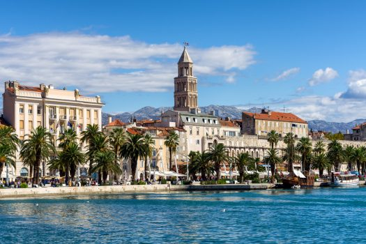 Croatia, Split, Waterfront, Group Travel, group tour ©CNTB Ivan Coric