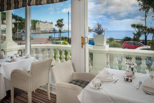 St. George's Hotel, Llandudno, North Wales - Terrace Restaurant (NCN)