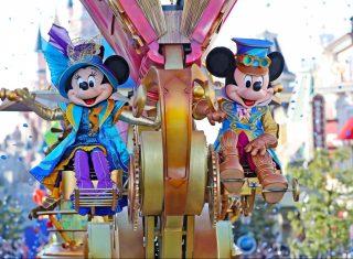 Disney Stars on Parade ©Disney Shows and Parades