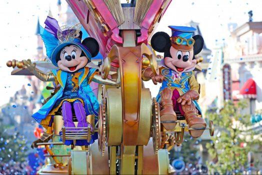 Stars on Parade at Disneyland® Park ©Disney