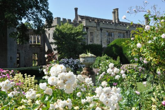 Sudeley Castle, The Cotswolds, Gloucestershire - From Queens Garden (NCN)