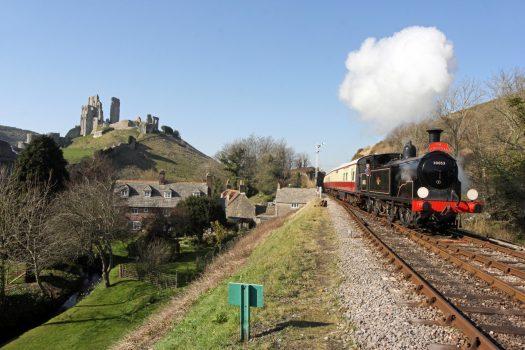 Swanage Railway, Dorset -The Dorsetman© Andrew P.M. Wright