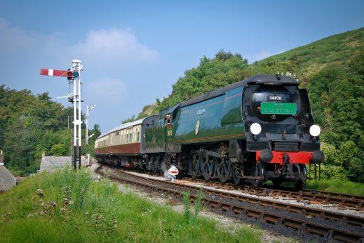 Swanage Railway, Dorset The Dorsetman © Andrew P.M. Wright