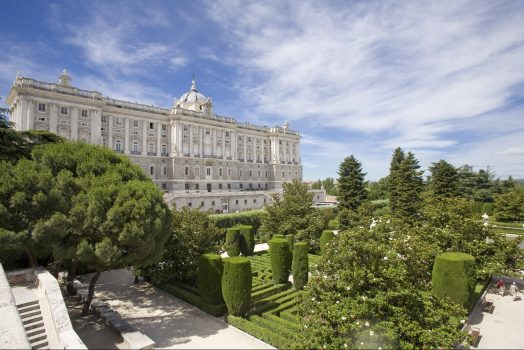 Palacio Real, Madrid, Spain © Madrid Destino