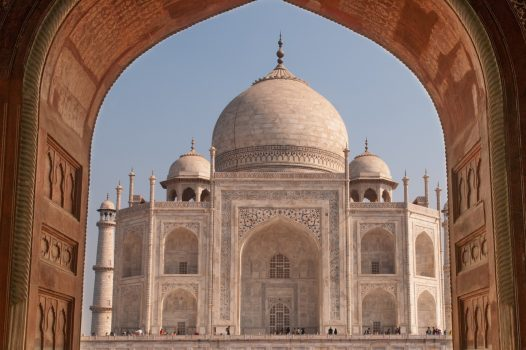 Amazing India Grand Tour The Taj, Mahal in Agra, India - built by the Moghuls
