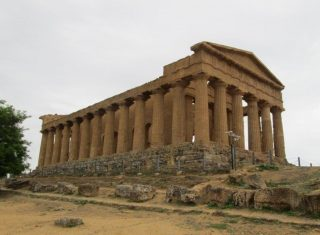Temple of Concordia Valley of the Temples Agrigento Sicily