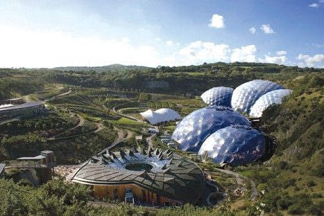 Cornwall tour The Eden Project