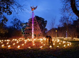 Jeff Eden Fire Garden at Kew © Kew Gardens