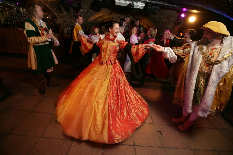 The Medieval Banquet, Ivory House, St Katharine Docks, London - Ladies