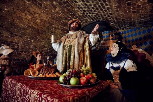 The Medieval Banquet, Ivory House, St Katharine Docks, London