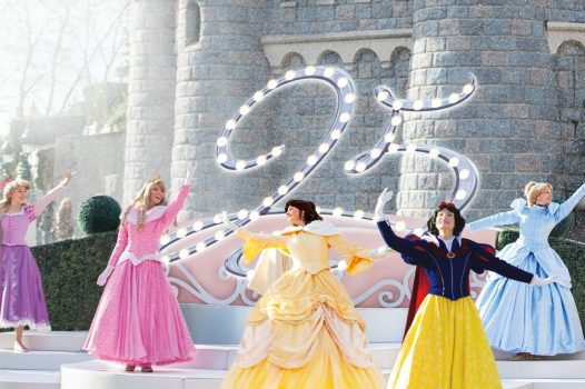 The Starlit Princess Waltz during Disney's 25th Anniversary ©Disney