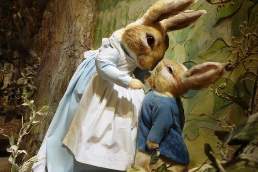 The World of Beatrix Potter, Bowness-on-Windermere, Cumbria - Mrs Rabbit © The World of Beatrix Potter Attraction