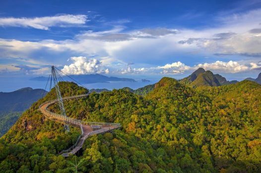The Landscape of Langkawi from the Cable Car Viewpoint, Langkawi, Malaysia © AsiaWorld
