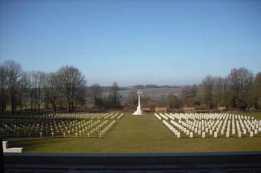 Thiepval (NCN) - Somme missing soldiers memorial