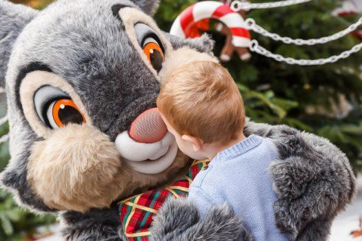 Thumper meet and greet at Christmas